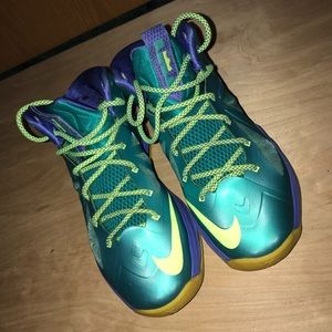 ee244057618 Nike Shoes - Nike Lebron X Sport Turq